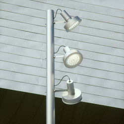Arne | Fixed to a column | Lampade LED | Santa & Cole