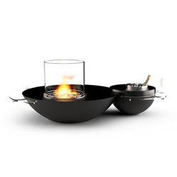 Duo | Chimeneas sin humo de etanol | GlammFire