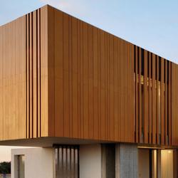 Parklex Facade | Gold | Facade design | Parklex