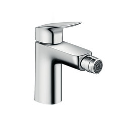 Hansgrohe Logis 3-hole rim mounted 2-handle bath mixer | Bidet taps | Hansgrohe