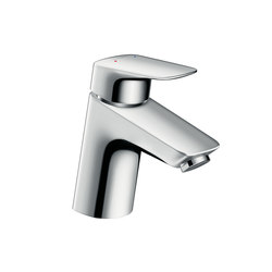 Hansgrohe Logis Single lever basin mixer 70 with pop-up waste set | Wash-basin taps | Hansgrohe