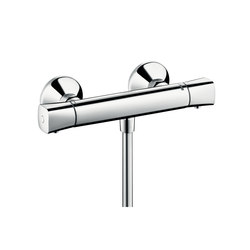 Hansgrohe Logis Ecostat Universal thermostatic shower mixer for exposed installation | Shower taps / mixers | Hansgrohe
