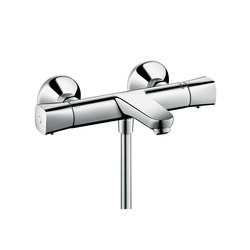 Hansgrohe Logis Ecostat Universal thermostatic bath mixer for exposed installation | Shower taps / mixers | Hansgrohe
