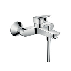 Hansgrohe Logis Single lever bath mixer for exposed installation | Bath taps | Hansgrohe