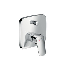 Hansgrohe Logis Single lever bath mixer for concealed installation | Bath taps | Hansgrohe