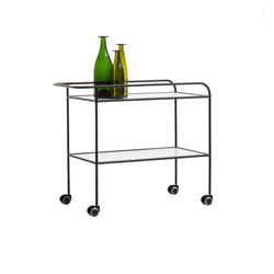 Steel Pipe Drink Trolley | Carrelli portavivande / carrelli bar | Cappellini