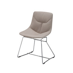 Corina | 2100 | Visitors chairs / Side chairs | Zanotta