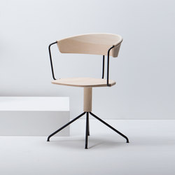 Uncino version A | MC9 | Visitors chairs / Side chairs | Mattiazzi