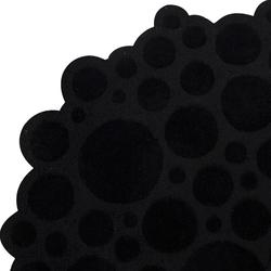 Soap black | Rugs / Designer rugs | Kateha