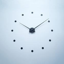 wall clock black | Horloges | Radius Design