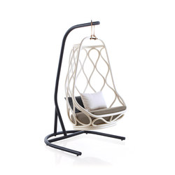 Nautica outdoor swing chair with base | Swings | Expormim