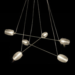 Damasco | Suspended lights | Vistosi