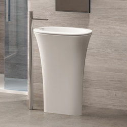 Amedeo ovale freestanding washbasin | Wash basins | Ceramica Cielo