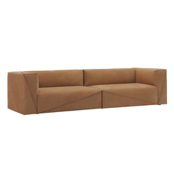 Diagonal sectional sofa | Lounge sofas | Fendi Casa