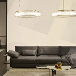 Hampton sofa | Divani lounge | Fendi Casa