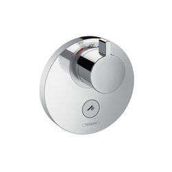 Hansgrohe ShowerSelect S thermostatic mixer highflow for concealed installation for 1 function and additional outlet | Shower taps / mixers | Hansgrohe