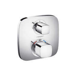 Hansgrohe Ecostat E thermostatic mixer for concealed installation for 1 function | Shower taps / mixers | Hansgrohe