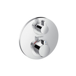 Hansgrohe Ecostat S thermostatic mixer for concealed installation for 2 functions | Shower taps / mixers | Hansgrohe