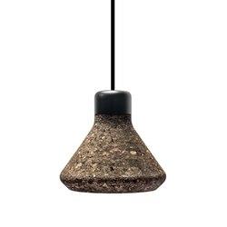 Luiz Lamp - Dark Cork | Suspended lights | Mater