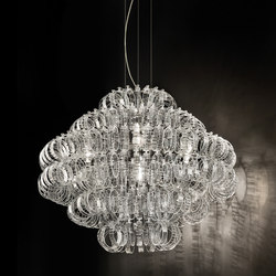 Ecos | Ceiling suspended chandeliers | Vistosi