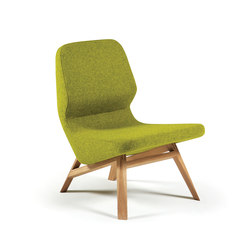 Oblique armchair | Lounge chairs | Prostoria