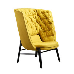 Cleo Lounge High | Fauteuils | Rossin