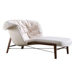 Cleo Chaise Lounge | Chaise longues | Rossin