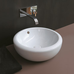 Fluid on top washbasin 45 | Wash basins | Ceramica Cielo