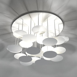 millelumen circles ceiling | Lampade plafoniere | Millelumen