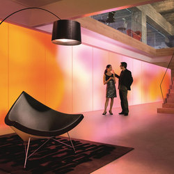 Philips luminous textile with Kvadrat Soft Cells | Luminous walls | Philips Lighting