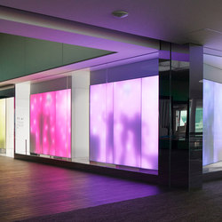 Philips luminous textile with Kvadrat Soft Cells | Pareti luminose | Philips Lighting