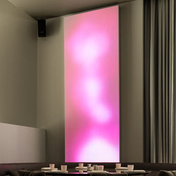 Philips luminous textile with Kvadrat Soft Cells | Back illuminated panels | Philips Lighting