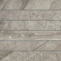 Selection Muretto Listello Grey | Ceramic tiles | Refin