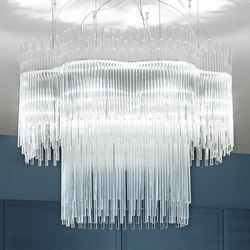 Diadema | Ceiling suspended chandeliers | Vistosi