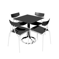 Café Donna Table | Tables de cafétéria | Askman
