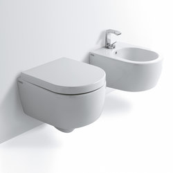 Smile Mini wall hung wc 48 | bidet 48 | Toilets | Ceramica Cielo