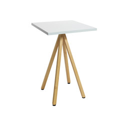 Robinia avec table Classic | Tables debout | nanoo by faserplast