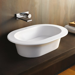 Amedeo ovale on top washbasin | Wash basins | Ceramica Cielo