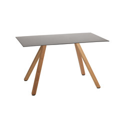 Robinia with tabletop Elegance | Restaurant tables | nanoo by faserplast