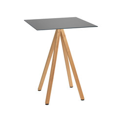 Robinia avec table Elegance | Tables debout | nanoo by faserplast