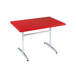 Standard with tabletop Classic | Canteen tables | nanoo by faserplast