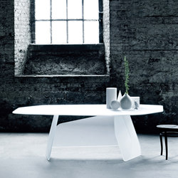 Quake | Dining tables | Glas Italia