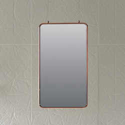 Bowl Two-sided hanging mirror | Bath mirrors | Inbani