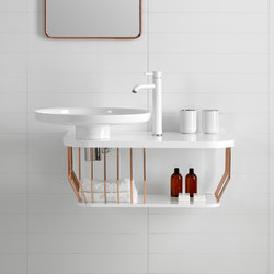 Bowl Bathroom Furniture Set 4 | Meubles lavabos | Inbani