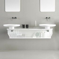 Bowl Bathroom Furniture Set 5 | Meubles lavabos | Inbani