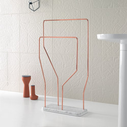 Bowl Freestanding Towel Rack | Towel rails | Inbani