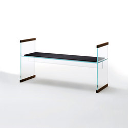 Diapositive | Waiting area benches | Glas Italia