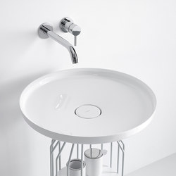 Bowl Countertop Ceramilux® Washbasin | Wash basins | Inbani