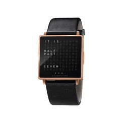 QLOCKTWO® W Rosegold Brushed | Wrist watches | BIEGERT&FUNK