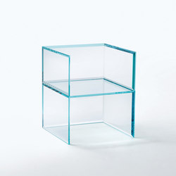 Prism Glass Chair | Chairs | Glas Italia